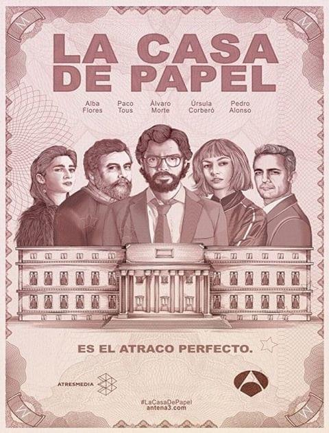 Dom z papieru / La Casa De Papel / Money Heist {Kompletny Sezon 2} (2018) PLSUBBED.480p.WEB.XviD.AC3-LPT / Napisy PL