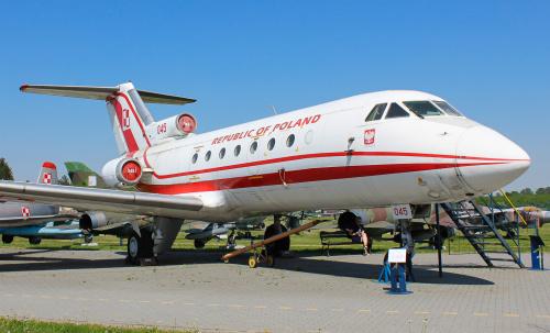 Samolot z historią, czyli pamiętny Yak, który wylądował przed Tupolevem już z problemami w Smoleńsku