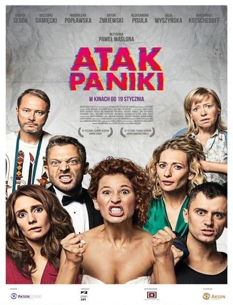 Atak paniki (2017) PL.DVDRip.XviD.KiT/ Polski film