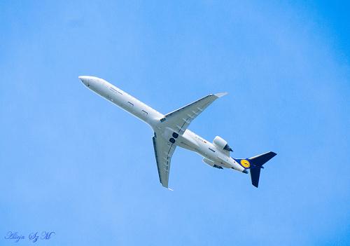 Samolot Lufthansa-Niemieckie Linie Lotnicze