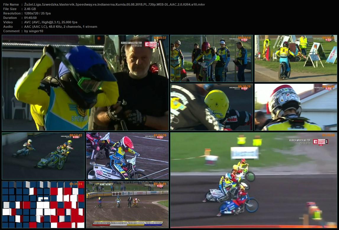 Żużlowa Liga Szwedzka Elitserien 2018