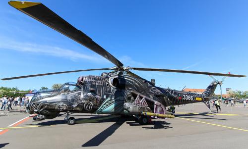 Czeski helikopter sił powietrznych - Mil
