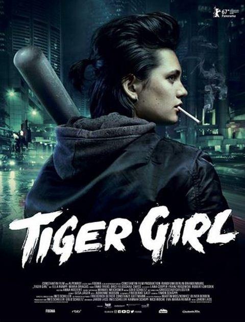 Tiger Girl (2017) PL.480p.BRRip.x264-Lcs / Lektor PL