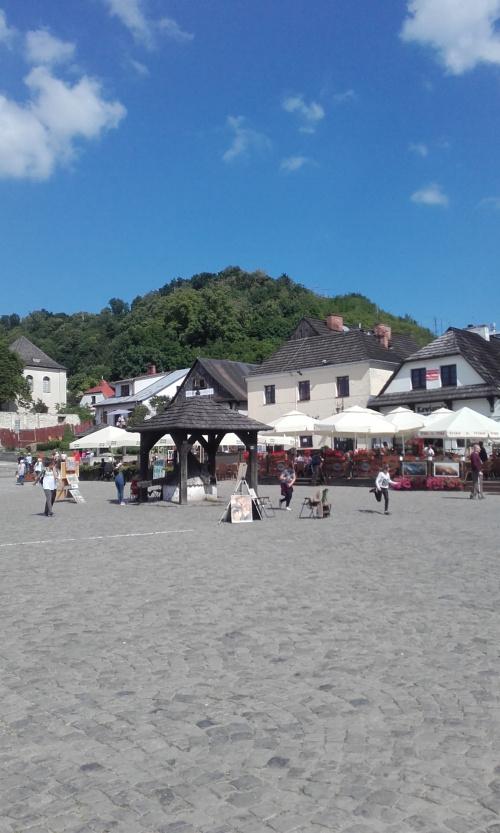 Na ryneczku w Kazimierzu Dolnym