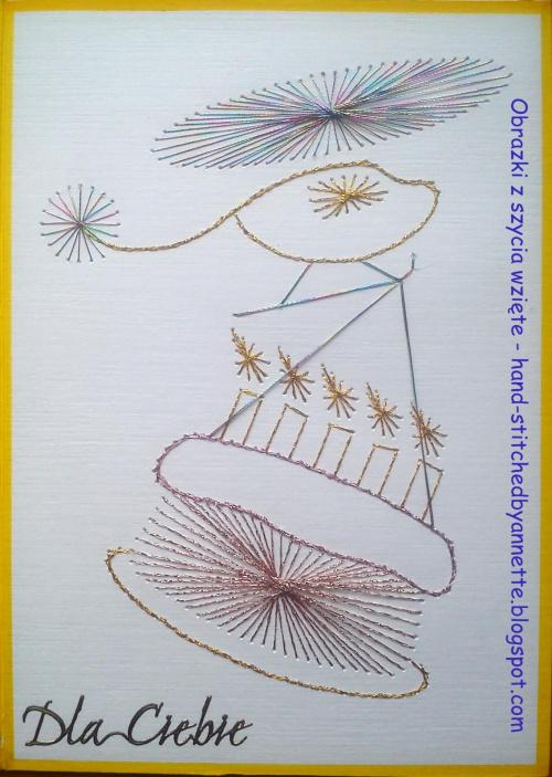 Na podstawie wzoru ze stitchingcards.com