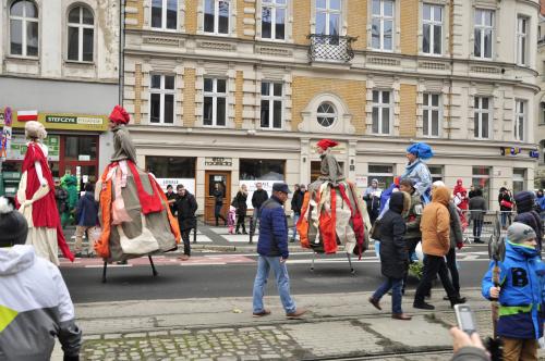 Przygotowania do obchodów imienin ulicy św.Marcina w Poznaniu