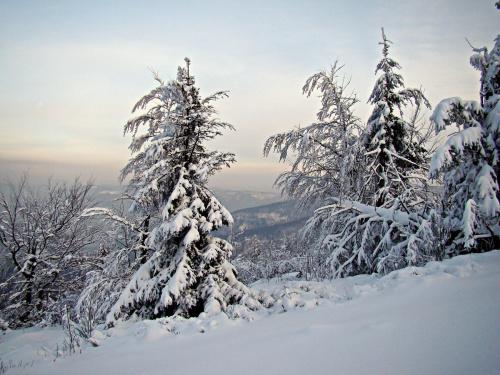 Zima w Beskidach