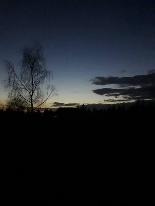 #slonce #zachod #wieczor #krajobraz #gwiazda