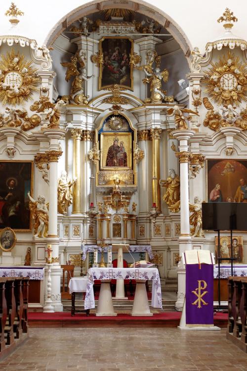 i niedzielnie...kościół pw.św.Ducha w Lublinie