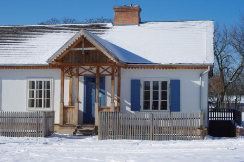 zaległy zimowy domek dla Margrafa