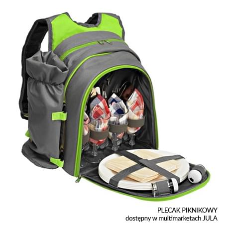 Plecak piknikowy dostępy w sieci supermarketów JULA
