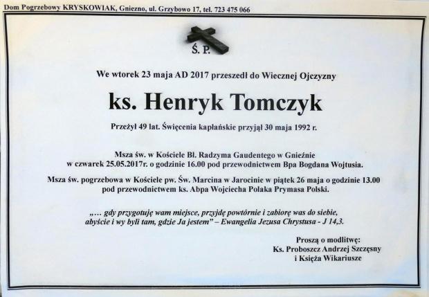 Ks. Henryk Tomczak