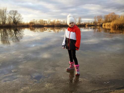 Na wodzie.. Emilka