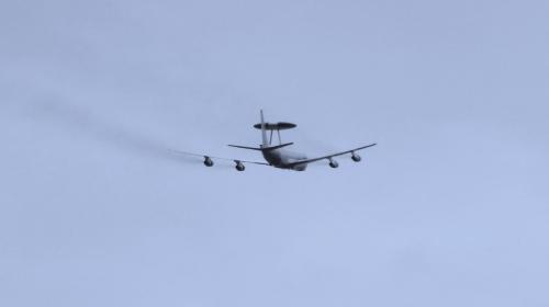 Boeing E-3 Sentry (AWACS) nad Dęblinem