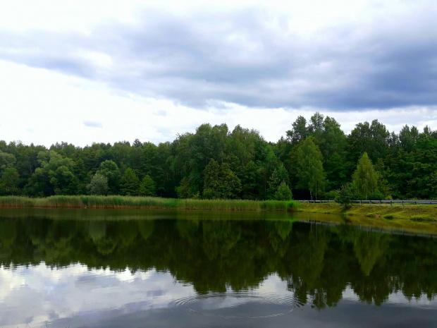 #jezioro #las #natura #krajobraz