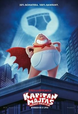 Kapitan Majtas: Pierwszy wielki film / Captain Underpants: The First Epic Movie (2017) PLDUB.720p.BluRay.x264-KiT / Dubbing PL