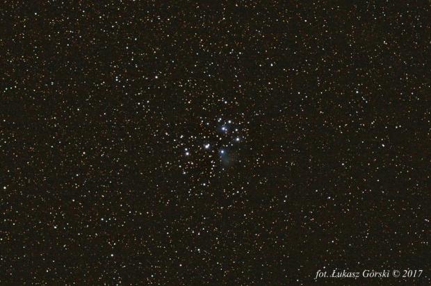 M45 #astrofoto #gwiazdy #plejady #gromada #otwarta
